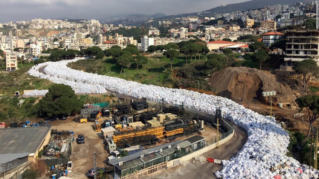 Lebanon Garbage 1